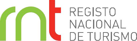 Logótipo Registo Nacional de Turismo, dá acesso ao site ao pressionar.