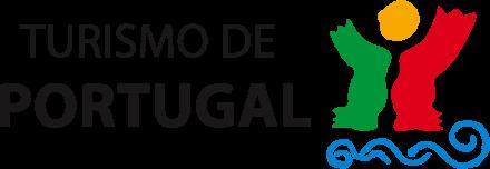 Logótipo Turismo de Portugal, dá acesso ao site ao pressionar.
